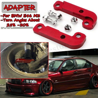 Drift Lock Kit Adapter Increasing Turn Angles For BMW E46 M3 About 25%-30%Red