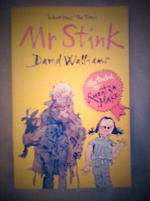 Mr Stink by David Walliams P/B Book Excellent Read