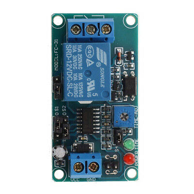 DC 12V Time Delay Relay Module Circuit Timer Timing Board Switch Trigger