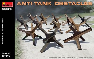 Anti-tank obstacles << MiniArt #35579, 1:35 scale