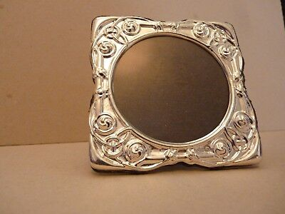 Celtic Knot & Rope, Eternity design Sterling Silver Hallmarked Photo Frame CTC