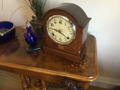Antique clock in working order  New quartz movement  fitted