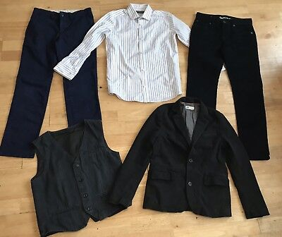Boys smart bundle 9-10 years trousers shirt waistcoat jacket gap h&m