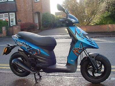 Piaggio Typhoon 125 Sports scooter, low miles, chunky tyres