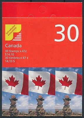 [H15754] Canada 2000 Good complete ADHESIVE booklet very fine Face Value 14.10$