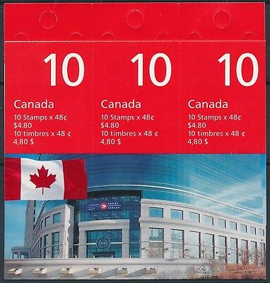 [H15760] Canada 2002 Good complete ADHESIVE booklet very fine Face Value 4.80$