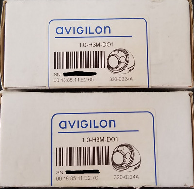 Avigilon H3 Microdome 1.0-H3M-Do1 1.0 Megapixel 720P Outdoor Micro Dome 2.8Mm