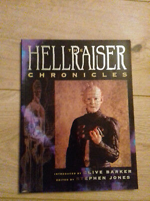 THE HELLRAISER CHRONICLES, Clive Barker, lavish illustrated book