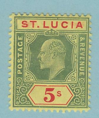 St Lucia 63 Mint Never Hinged Og ** No Faults Very Fine !