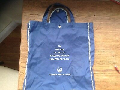 Rare chance to get a JAL Japan Airlines promotional elephant bag.