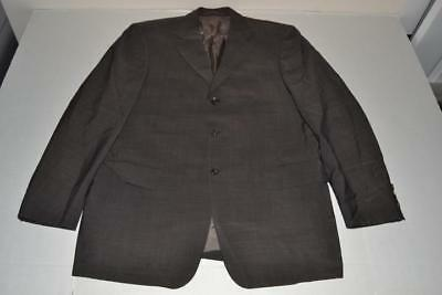 ab59e99b1 Hugo Boss Angelico Parma Charcoal Gray 3 Button Blazer Coat Jacket Mens  Size 40S