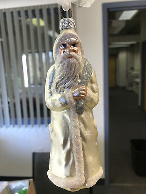 Patricia Breen Christmas ornament, 1996 Father Time / Item #9535/ mint