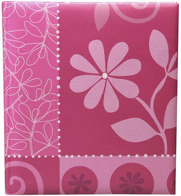 Henzo 98.200.03 Flower Festival photo album Pink Traditional Photo Album - 10 x