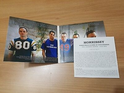 Morrissey World Peace Is None Of Your Business Rare Korea Promo Cd The Smiths