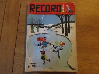 Magazine Record N°2 Bayard 1962 Roba Course Infernale Ned Tiger Goscinny Will