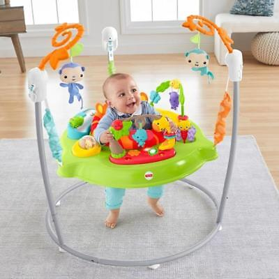 Fisher-Price Roaring Rainforest Baby Jumperoo With Music And Lights