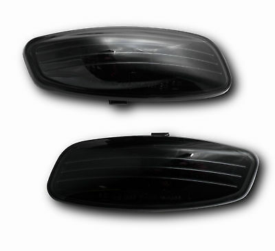 Peugeot 207 06- Crystal BLACK SIDE LIGHT REPEATER INDICATORS