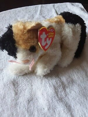 TY Beanie Baby - HODGES the Cat (6.5 inch) Rare! - MWMTs Stuffed 982ab0142385