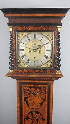 Late 17th Century Marquetry Longcase Clock