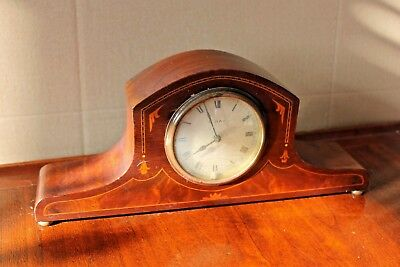 Antique French S F R A mantle clock,8 day, Wind Up, working Marquatary