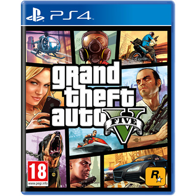 Grand Theft Auto GTA V (Five 5) PS4 Game