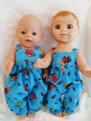 """17"""" Handmade Dolls Clothes  Handmade To Fit  Baby Born ,luvabella , Luvabeau"""