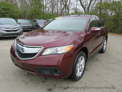 2015 Acura RDX AWD 4dr AWD 4dr SUV Automatic Gasoline V6 Cyl Basque Red Pearl II