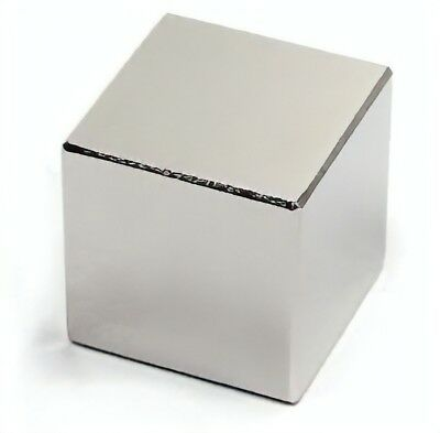 Super Strong Rare Earth Neodymium Cube Magnets - Excellent Value!