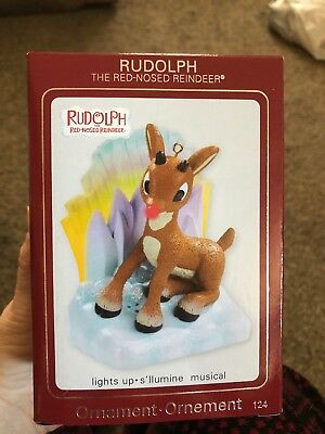 Rudolph Carlton Cards 124 Red Nosed Reindeer Heirloom Ornament American Greeting
