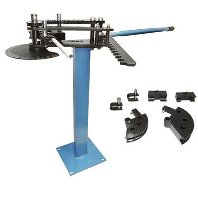 "Pedestal 1, 1-1/2 & 1-3/4"" TUBE PIPE BENDER Bending Schedule 40 Up To 120 Degree"