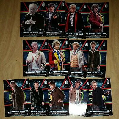 DOCTOR WHO TOPPS Sub Set The Doctors Across Space