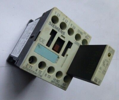 Siemens  Motor Contactor  Sirus 3RT1015-1BB41  24VDC   7A  3 Kw with LED