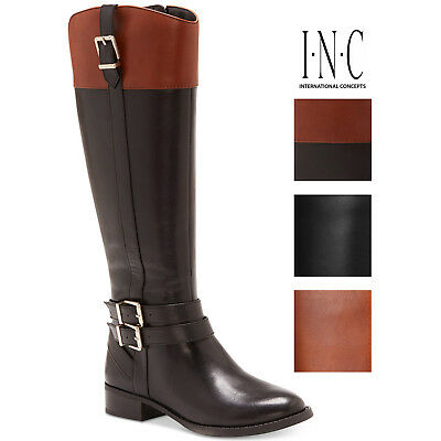 3cff25311f21 SAM EDELMAN RIDING Boots Ryan Tall Pebble Leather Boot Knee Umber ...