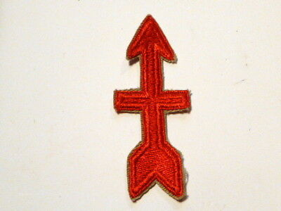 A  WW 2 U S Army 32nd Division Cut Edge Snow Back Patch