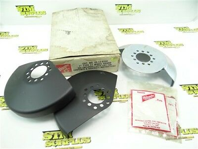 """3Pc Lot Of New Milwaukee 7"""" Grinder Wheel Guards + Hardware"""