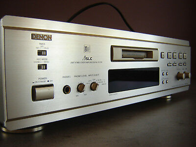 Denon Mini Disk DMD 1000 + 10 Mini Disks