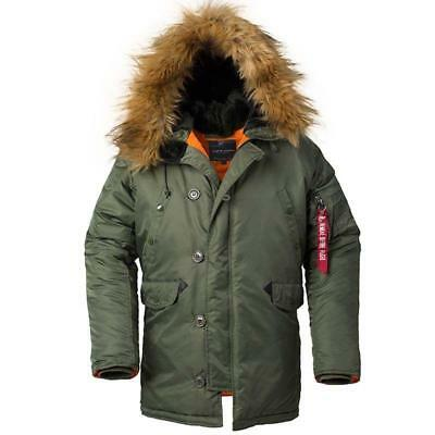8b15c0888e2 USAF WWII N3B Flight Jacket Mens Coat Cotton Clothes Winter Field Military  Parka