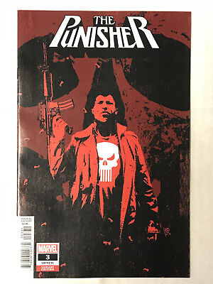 Punisher #3 - 1:25 Variant! NM - Andrea Sorrentino Cover!