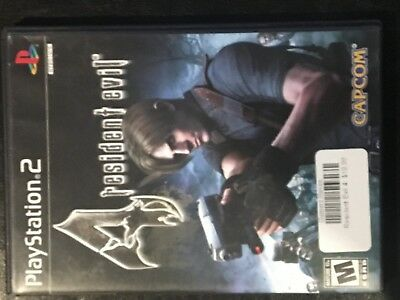 Resident Evil 4 (Sony PlayStation 2, 2005) PS2