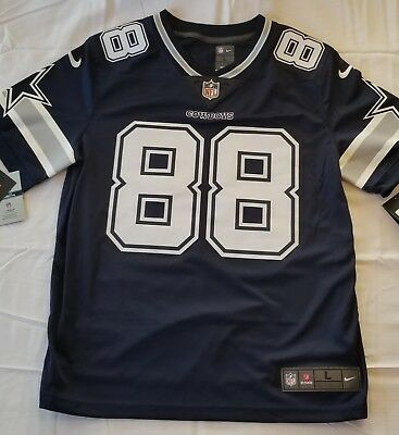 83bb10d16 NWT  150.00 Nike On Field Mens Dez Bryant Dallas Cowboys Stitched Jersey  LARGE