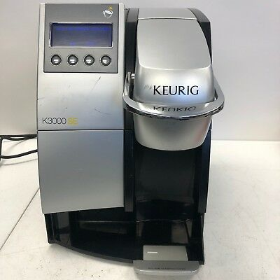 Keurig K3000SE Large Coffee Brewing System, Silver And Black MISSING TRAY