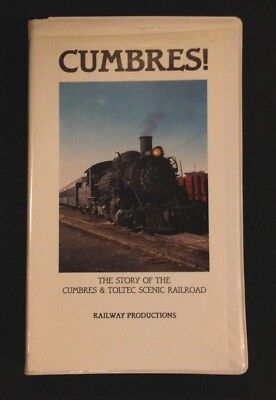 VHS VIDEO TAPE CUMBRES   The story of the Cumbres & Toltec scenic railroad