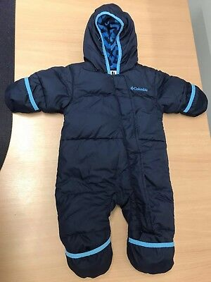 Columbia Down Winter Snowsuit / Bunting - Baby Boy / Girl. 3-6 Months