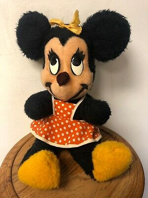 Minnie Mouse California Stuffed Toys Walt Disney Characters Vintage Plush 1960s?