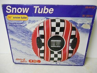 "36"" Snow Tube with Handles, Lillian Vernon"