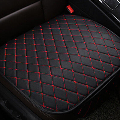 Universal Black PU Leather Car Auto Single Front Seat Cover Pad Mat Accessories