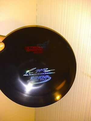 Innova Disc Golf Star Destroyer 175 McBeth 4x! Rare! Black rainbow stamp