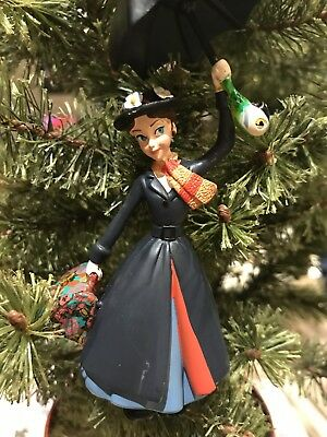 Disney Sketchbook Ornament 2018 Mary Poppins with Umbrella