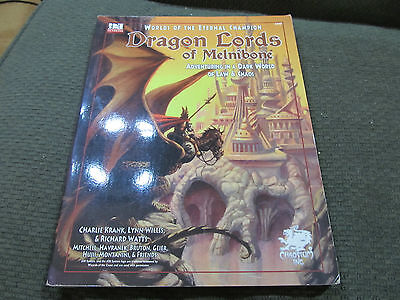 Dragon Lords Of Melnibone Chaosium Inc.Michael Moorcock d20 System Ad&d Elric