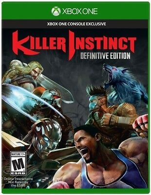 Xbox One Xb1 Killer Instinct Definitive Edition Brand New And Sealed